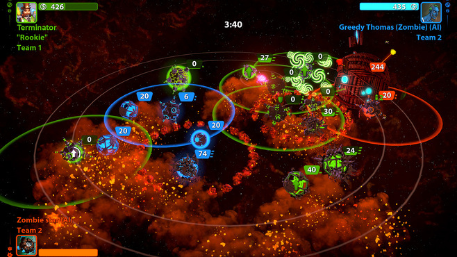 Planets under Attack Screenshot 5