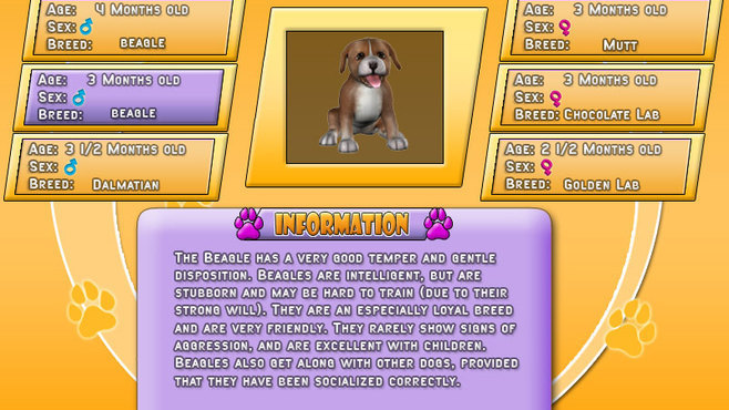 Puppy Luv: A New Breed Screenshot 7
