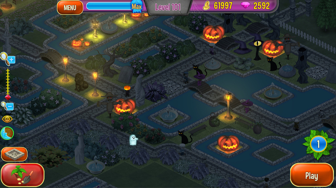 Queen's Garden Halloween Screenshot 2