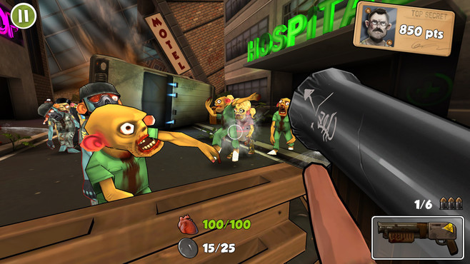 Rage Against The Zombies Screenshot 1
