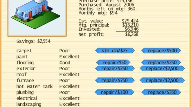 Real Estate Empire Screenshot 2