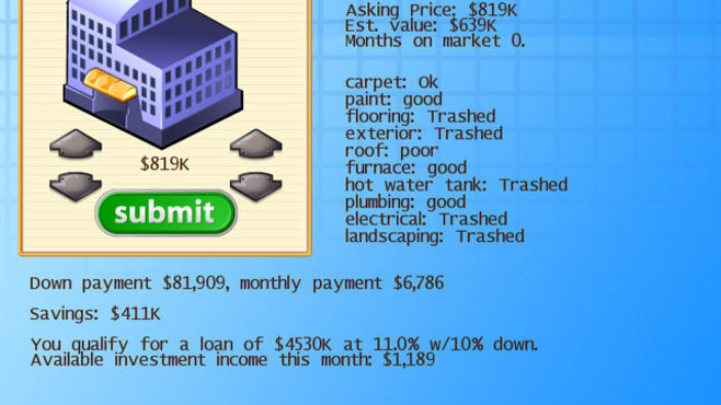 Real Estate Empire Screenshot 3