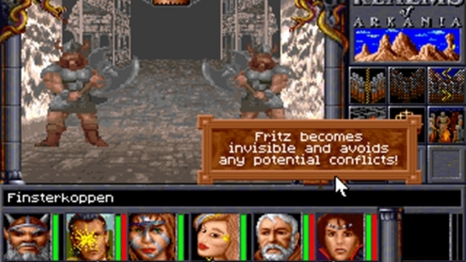Realms of Arkania 2 - Star Trail Classic Screenshot 2