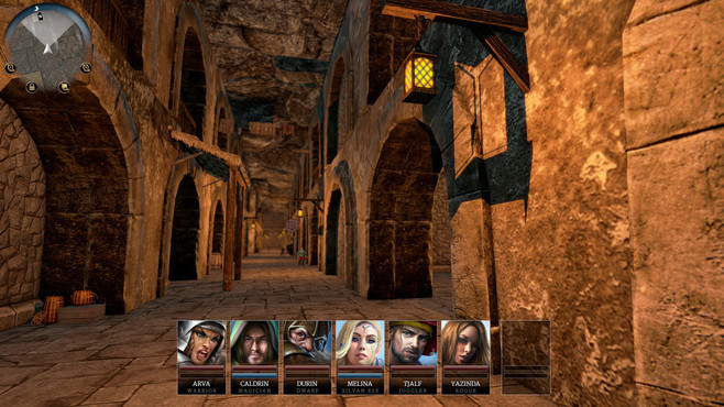 Realms of Arkania: Star Trail Deluxe Edition Screenshot 3