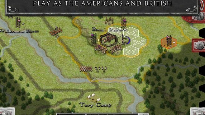 Rebels & Redcoats Screenshot 1