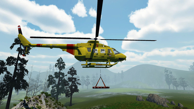Recovery Search and Rescue Simulation Screenshot 1