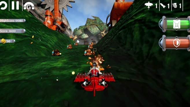 Red Barton and the Sky Pirates Screenshot 4