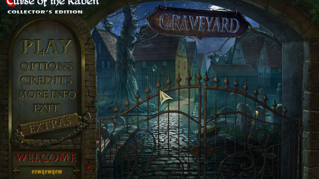 Redemption Cemetery: Curse of the Raven Collector's Edition Screenshot 1