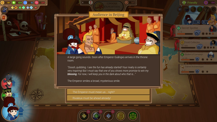 Renowned Explorers: The Emperor's Challenge Screenshot 5