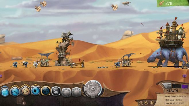 Roaming Fortress Screenshot 1