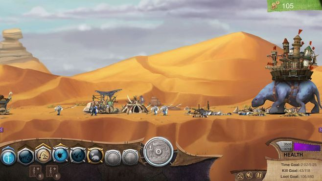 Roaming Fortress Screenshot 2