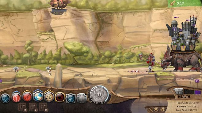 Roaming Fortress Screenshot 3