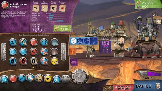 Roaming Fortress Screenshot 11