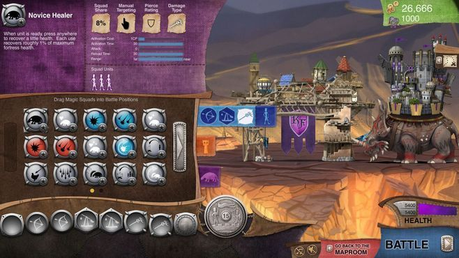 Roaming Fortress Screenshot 13