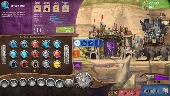 Roaming Fortress Screenshot 16