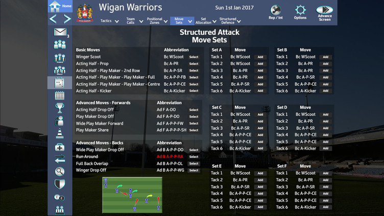 Rugby League Team Manager 2018 Screenshot 15
