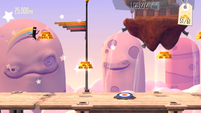 BIT.TRIP Presents... Runner2: Future Legend of Rhythm Alien Screenshot 1