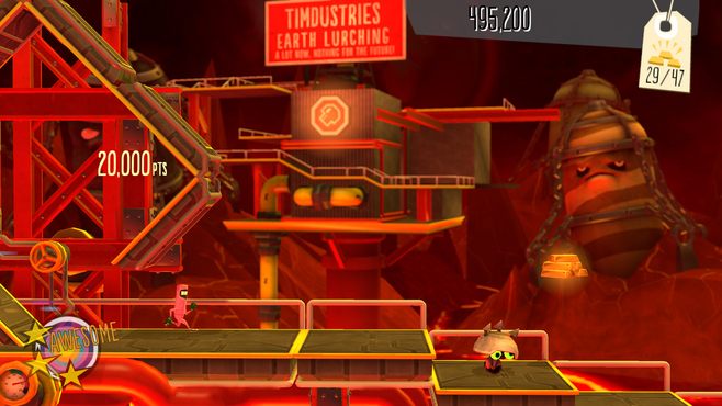 BIT.TRIP Presents... Runner2: Future Legend of Rhythm Alien Screenshot 2