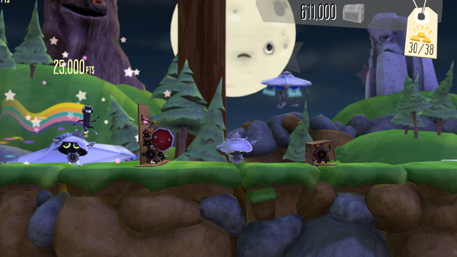 BIT.TRIP Presents... Runner2: Future Legend of Rhythm Alien Screenshot 7