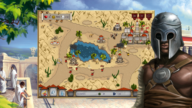 Rush on Rome Screenshot 1