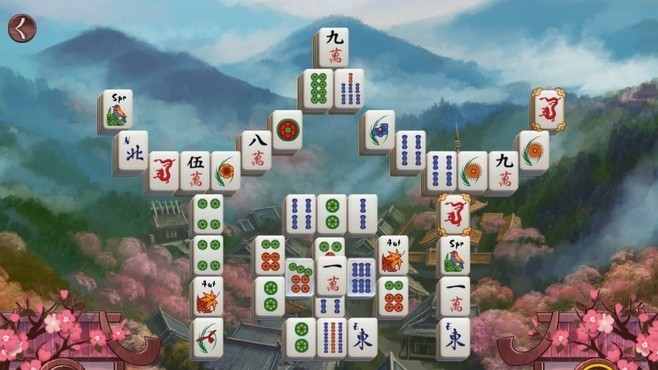 Sakura Day 2 Mahjong Screenshot 3