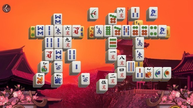 Sakura Day 2 Mahjong Screenshot 4