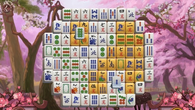 Sakura Day 2 Mahjong Screenshot 7
