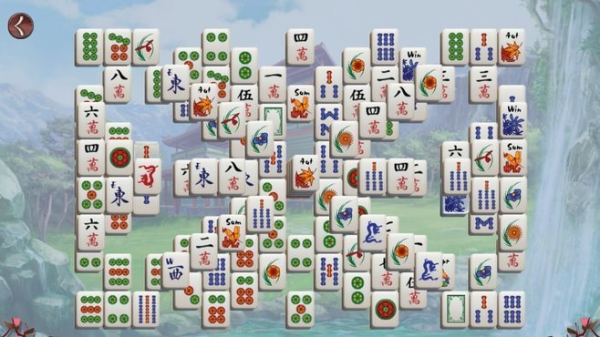 Sakura Day Mahjong Screenshot 5