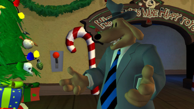 Sam & Max 201- Ice Station Santa Screenshot 2