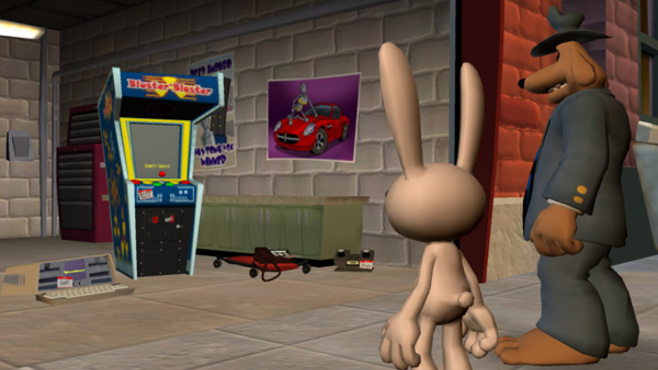 Sam & Max 201- Ice Station Santa Screenshot 4