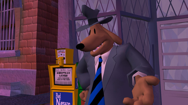 Sam & Max 202 - Moai Better Blues Screenshot 5