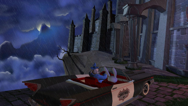 Sam & Max 203 - Night of the Raving Dead Screenshot 1