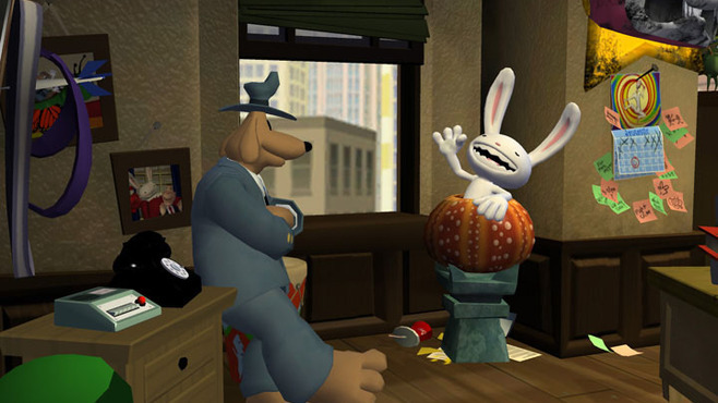 Sam & Max 203 - Night of the Raving Dead Screenshot 5