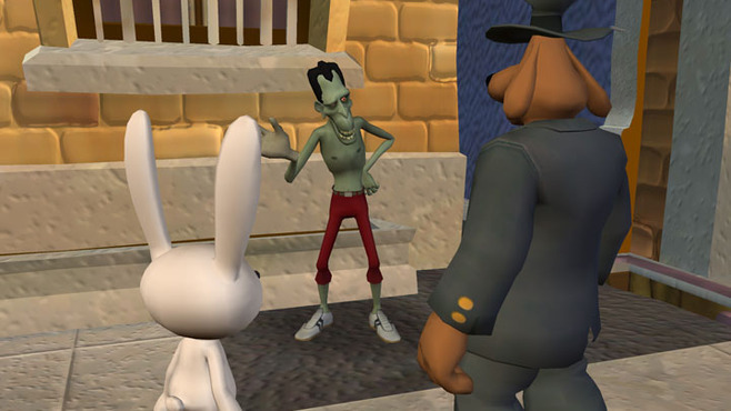 Sam & Max 203 - Night of the Raving Dead Screenshot 6