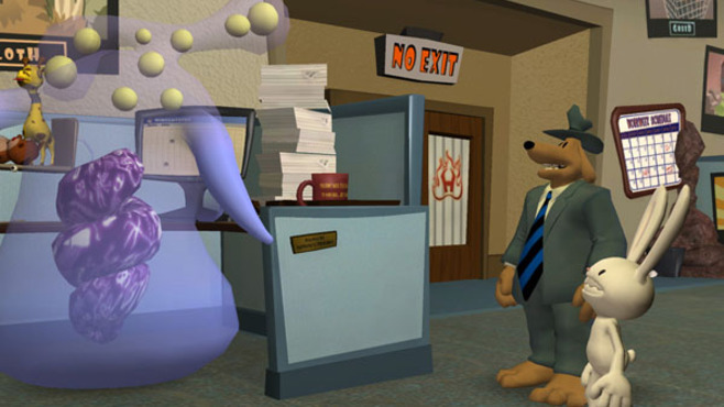 Sam & Max 205 - What's New Beezlebub? Screenshot 1