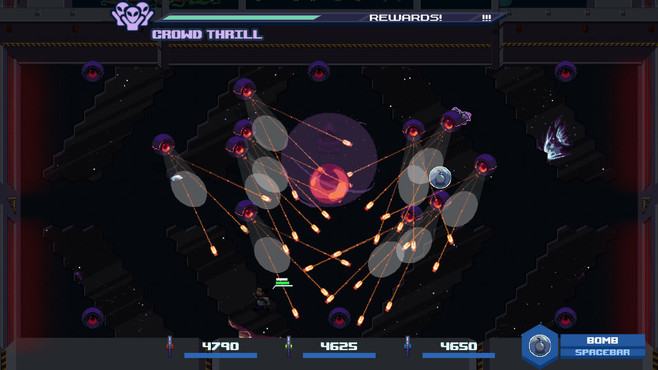 Satellite Rush Screenshot 1