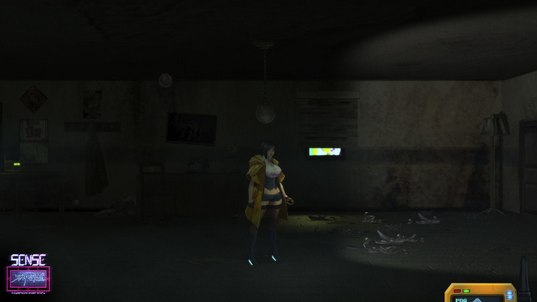 Sense - 不祥的预感: A Cyberpunk Ghost Story Screenshot 4