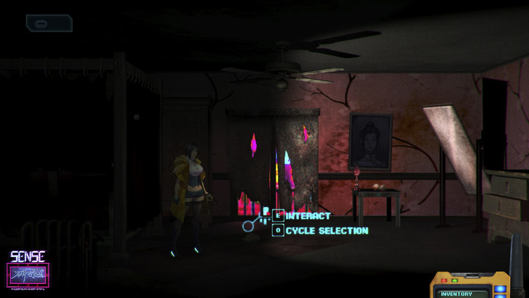 Sense - 不祥的预感: A Cyberpunk Ghost Story Screenshot 7