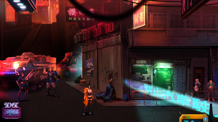 Sense - 不祥的预感: A Cyberpunk Ghost Story Screenshot 10