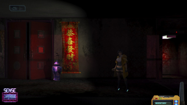 Sense - 不祥的预感: A Cyberpunk Ghost Story Screenshot 14