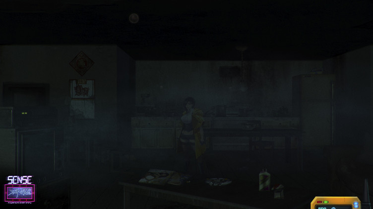 Sense - 不祥的预感: A Cyberpunk Ghost Story Screenshot 15