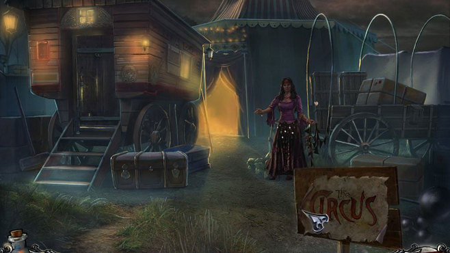 Shadow Wolf Mysteries: Curse of the Full Moon Collector's Edition Screenshot 1