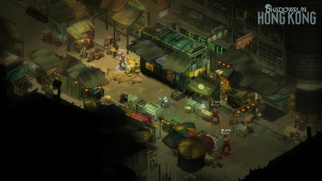 Shadowrun: Hong Kong - Extended Edition Screenshot 1