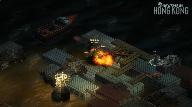 Shadowrun: Hong Kong - Extended Edition Deluxe Screenshot 1