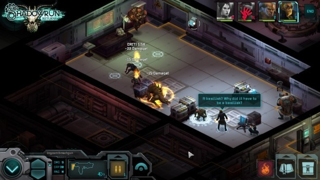 Shadowrun Returns - Deluxe Upgrade Screenshot 1