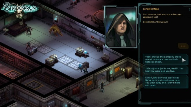 Shadowrun Returns - Deluxe Upgrade Screenshot 3