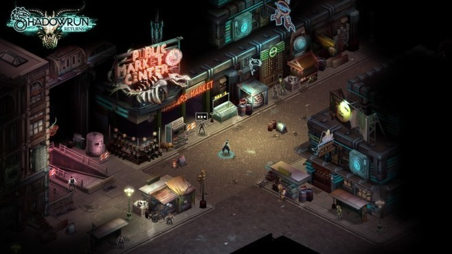 Shadowrun Returns - Deluxe Upgrade Screenshot 4
