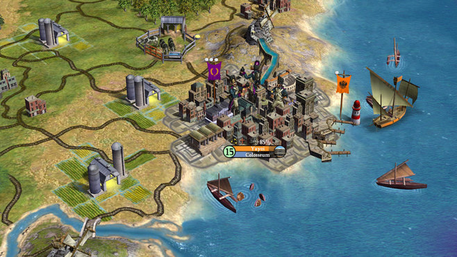 Sid Meier's Civilization IV Screenshot 1