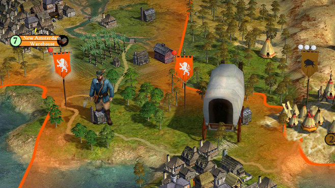 Sid Meier's Civilization IV: Colonization Screenshot 8