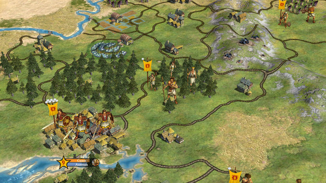 Sid Meier's Civilization IV: Warlords Screenshot 2